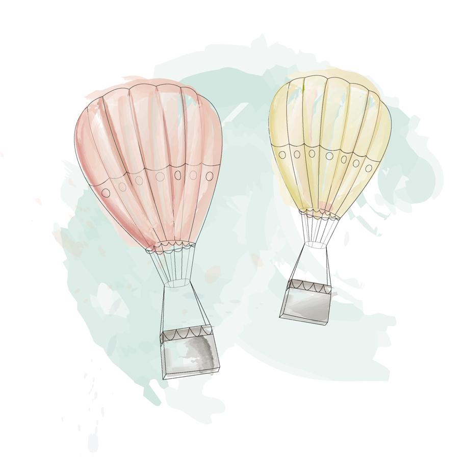 färgballonger
